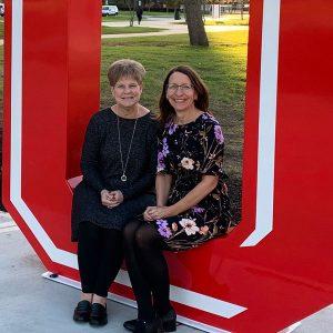 Karen Biggs-Tucker and Maria Walther